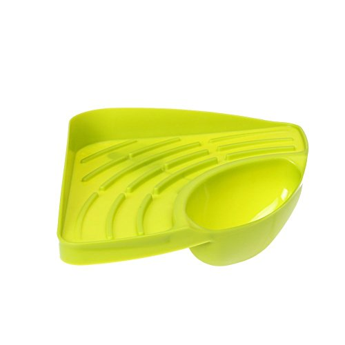 "Top Sponge Holder | 7.7"" x 10.8"" x 3.0"" Flexible Sponge Caddy with Drainage Hole 