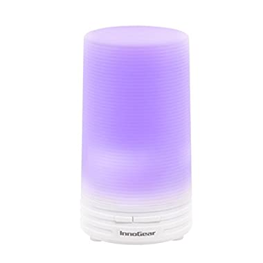 InnoGear 70ml USB Essential Oil Diffuser Aroma Diffusers Car Vehicle Air Refresher for Office Travel Home Vehicle