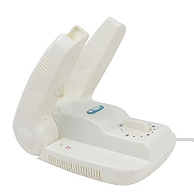 Hermitshell White Shoes Dryer Warmer with Timing Boot Dryer Scoks Dryer
