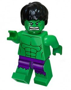 LEGO Marvel Super Heroes Exclusive Mini Figure Hulk with Ripped Purple...