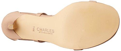 Charles Di Charles David Womens Rookie Sandalo Con Tacco Nudo