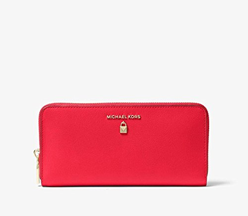 Michael Kors Sutton Saffiano Leather Continental Wallet, Dk Sangria by Michael Kors