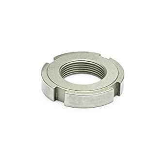 M15 x 10.0 Winco 1804.1-M15X1 Slotted Spanner Lock Nut with Polyamide Insert J.W Steel Zinc Plated GN1804.1