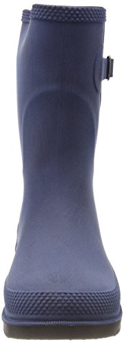 DOGGO Damen Lotte Brushed Gummistiefel Blau (Blau)