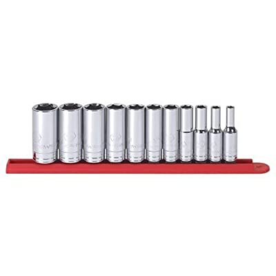 "GEARWRENCH 11 Pc. 3/8"" Drive 6 Point Deep SAE Socket Set - 80555: Home Improvement"