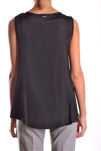 S606jf175dxxx999 Mujer Dondup Viscosa Top Negro CTqqwf5