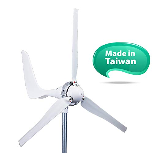 Automaxx Windmill 1500W 24V 60A Wind Turbine Generator kit. Automatic and Manual Braking System & Amp Meter. DIY Installation, MPPT Controller with Bluetooth Function Xmas Gift