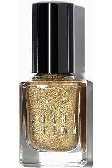 Bobbi Brown Limited Edition Glitter Nail Polish Old Hollywood Collection SOLID GOLD by (Bobbi Brown Nail)