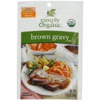 Simply Organic Brown Gravy, Seasoning Mix, Certified Organic, 1-Ounce Packets (Pack of 12) Thank you all with me to entrust to Starworld market stewardship. Best Regard