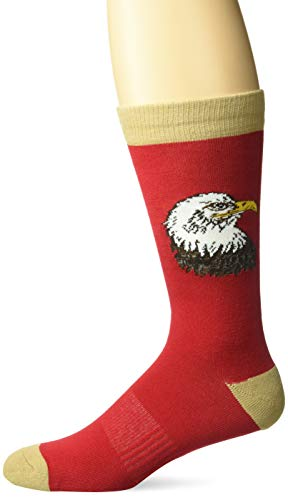 K. Bell Mens Celebrating Americana Crew Socks - Made in USA