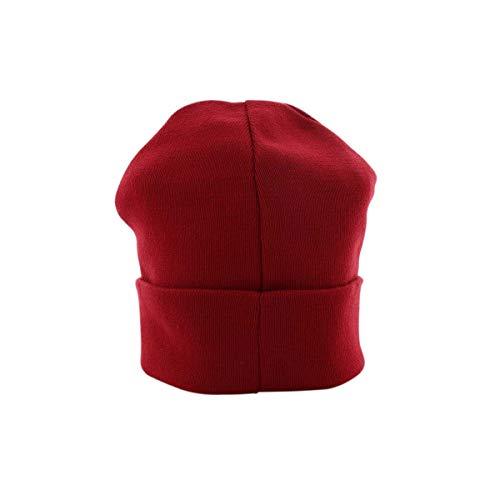 Rs008 Rojo Gorro de Unisex Reverse Champion Cap Punto Scr Weave Adulto Beanie xAgP4Z