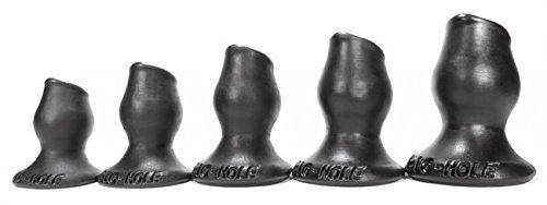 Pighole-2 Medium Fuckable Buttplug - Black