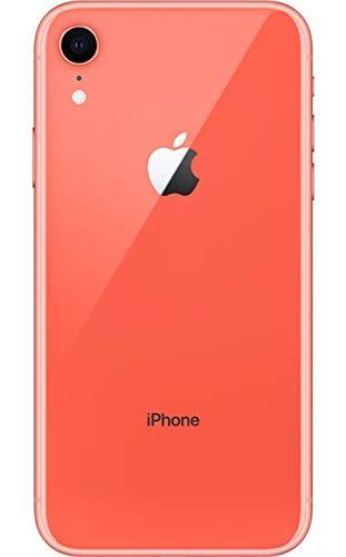 Apple iPhone XR, 64GB, Coral - Fully Unlocked (Renewed)