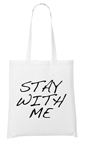 Stay With Me Bolsa Blanco