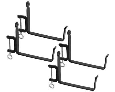 2 Sets of 2 Achla Clamp-On Flower Box Brackets for 8