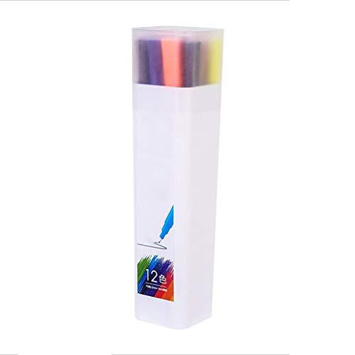水彩絵筆セット 水彩絵の具ボックス 基本的な水彩絵の具セット ギフトに最適 水彩ペンのおもちゃセット (カラー:2)