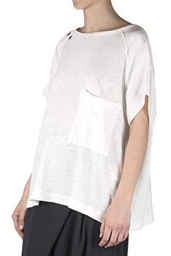 Femme shirt Mansfi 8pm 2019 estate Primavera T Lait D8pm91h97 Couleur pwqAZxFAE5