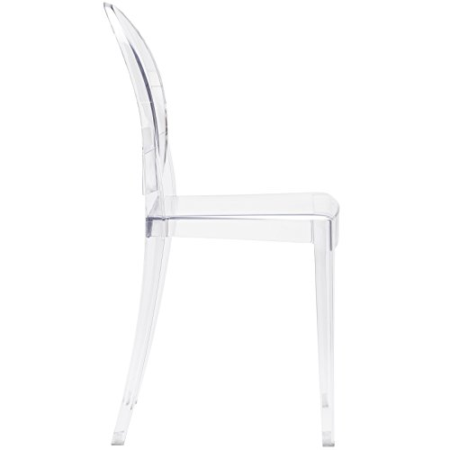 Poly and Bark Burton Side Chair in Clear (Set of 4) by POLY & BARK (Image #4)