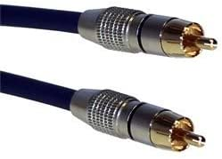OUVER CABLE COAXIAL DIGITAL RCA HQ ORO 10M M-M: Amazon.es: Electrónica