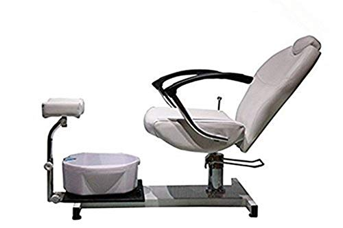 Funnylife Pedicure Spa Station Chair with Foot Massage Basin &pedicure stations for salon use
