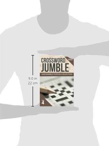 Crossword Jumble : Unscramble Puzzles Collection Vol 4