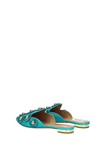 Slippers Fabric Clogs Sunflower Heavenly AQUAZZURA and Women UK SUFFLAA0MOI OnqdHvWwp