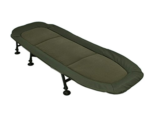 AMENITIES DEPOT 6-Leg Outdoor Folding Bedchair Chaise Lounge Beach Camping Bed Cot(202050A)