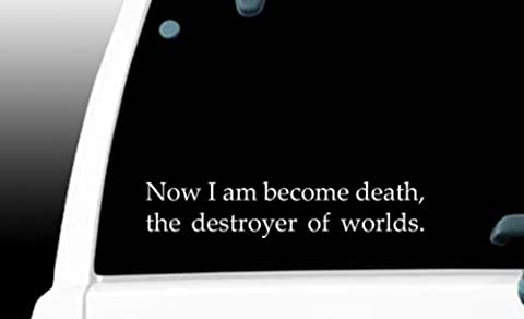 I am become death now, the destroyer of worlds Oppenheimer quote - 9