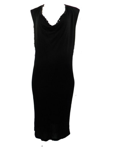 (Jean Paul Gaultier Femme Cocktail Evening Dress Giovanni 44 Black)