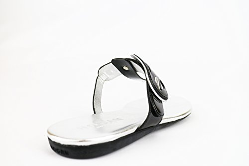 6 Woman EU AH680 Sandals Leather Black Patent 36 US Hogan q7x4YRSpSw