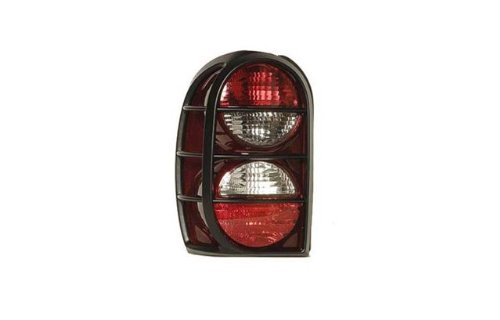 Jeep Liberty Replacement Tail Light Unit (with Air Dam) - Driver Side