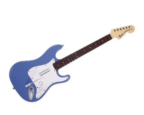 (Rock Band 3 - Wireless Fender Stratocaster Guitar Controller for PlayStation 3 - Blue)