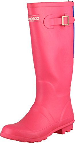Cotswold Women Highgrove Buckle-Up Rubber Wellington Wellies Boot Snow Footwear Fuchsia FoQDehS5