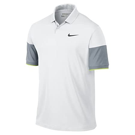 Nike Modern Major Momento Commander Polo Blanco/Gris/V, Gris ...