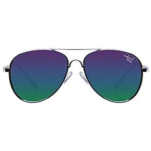 Kids Aviator Sunglasses for Children in Gold/Silver Metal Frame - Idol Eyes Baby