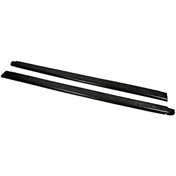 Set of 2 Except Dually Wade 72-41157 Truck Bed Rail Caps Black Smooth Finish with Stake Holes for 2007-2013 Silverado 1500 /& 2007-2014 Silverado 2500HD 3500 with 8ft bed