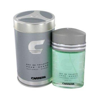 Carrera by Muelhens for Men - 3 Pc Gift Set 3.4oz EDT Spray, 6.8oz Shower Gel, 6.8oz After Shave Balm