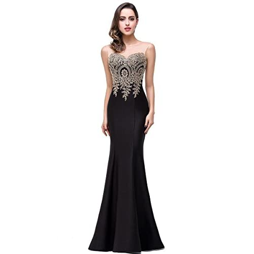 479af49c46 Babyonlinedress® Mermaid Evening Dress for Women Formal Long Prom ...