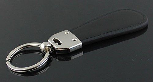 CHAMPLED AUDI Emblem Keychain Keyring Logo Fashion Titanium Double Symbol Sign Badge Personalized Custom Logotipo Quality PU Leather Nice Gift for Man Woman CHAMPLED®
