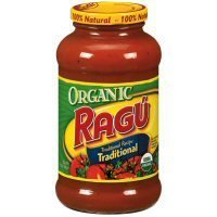 Ragu Organic Traditional Pasta Sauce 23.9oz Jar (Pack of 4) Ragu Organic Sauce