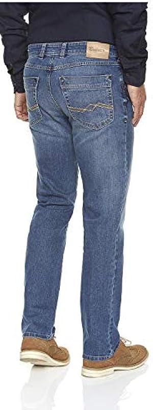 Atelier GARDEUR Nevio-6 71080 165 jeansy męskie: Odzież