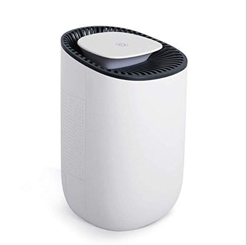 IMFFSE Household Mini Intelligent Dehumidifier, Portable Silent Dehumidifier, Suitable For Bedroom, Bedroom, Family, Bathroom, RV, Baby Room, White by IMFFSE