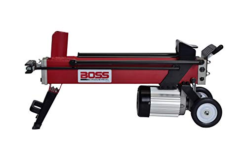 Boss Industrial EC5T20 Electric Log Splitter, 5 Ton