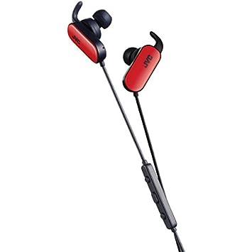 JVC HA-EBT5-R - Auriculares (Inalámbrico, Dentro de oído, Binaural