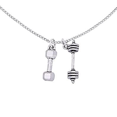 and add small charm wing to products necklace faith angel fitness tinywingweight choose weight
