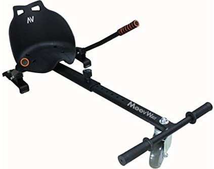Kit Kart Moovway Kart noir pour Hoverboard