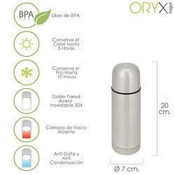 Oryx 5075000 Termo Liquidos Acero Inoxidable Antigoteo 350