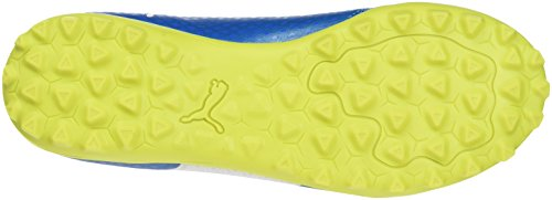 Puma One 17.4 Tt Jr, Zapatillas de Fútbol Unisex Niños Azul (Atomic Blue- White-Safety Yellow)