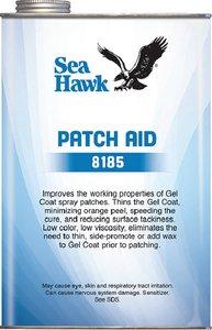 Sea Hawk Patch Aid Gel Coat Additive, Qt. 8185-QT