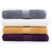 Canningvale Egyptian Royale 100% Egyptian Cotton 650 GSM Bath Towel Carbone Grey Bath Essentials
